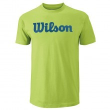 Wilson Sport 2017 Mens Script Cotton T Shirt Tennis Tee