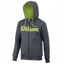 Wilson Sport 2017 Mens Script Cotton Full Zip Hoody
