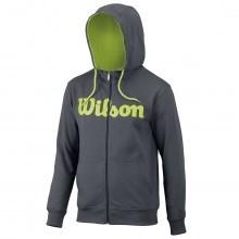 Wilson Sport 2017 Mens Script Cotton Full Zip Hoody
