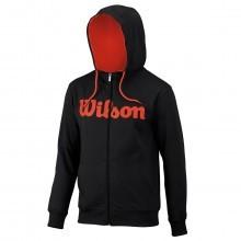 Wilson Sport Mens Script Cotton Full Zip Hoody