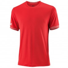 Wilson Sport Mens Team Solid Crew NanoWIK Comfort T Shirt