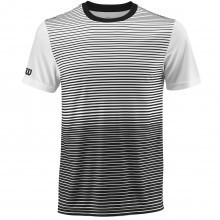 Wilson Sport Mens Team Striped Crew T Shirt