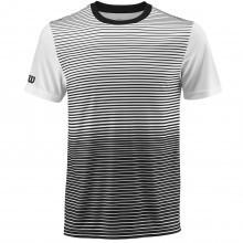 Wilson Sport Mens Team Striped Crew T Shirt