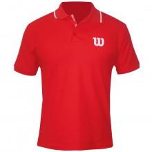 Wilson Mens Core Cotton W Logo Polo Shirt