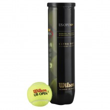 Wilson US Open XD Tennis Balls - 4 Ball Can Extra Duty - Multi Pack Options