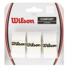 Wilson 2018 Pro Overgrip for Rackets 3 Pack Tennis Badminton