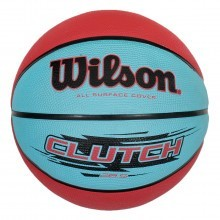 Wilson Rubber Clutch Rubber Cover Pebbled Basketball - Official Size