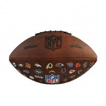 Wilson NFL Off Throwback 32 Leather American Football - Official Size