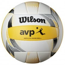 Wilson AVP II Replica Durable 18 Panel Leather Beach Volleyball - Official Size