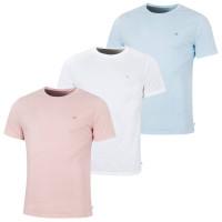 soft pink/white/blue