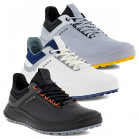 Ecco Mens 2021 Core Lightweight Water Repellent Spikeless Leather Golf Shoes