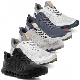 Ecco Mens 2020 Biom Cool Pro Leather Gore Tex Spikeless Waterproof Golf Shoes
