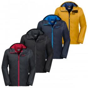 Jack Wolfskin Mens 2019 Chilly Morning Waterproof Jacket
