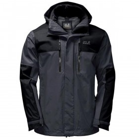 Jack Wolfskin Mens Jasper Flex Waterproof Jacket