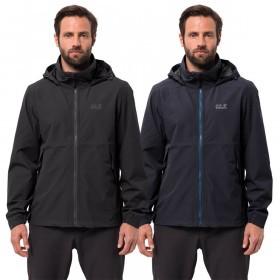 Jack Wolfskin Mens Evandale Waterproof Jacket