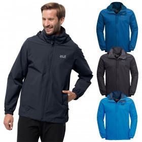 Jack Wolfskin 2021 Mens Stormy Point Waterproof Windproof Breathable Hood Jacket