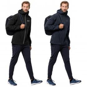 Jack Wolfskin Mens 2019 JWP Shell Waterproof Jacket