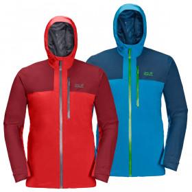 Jack Wolfskin Mens 2021 Go Hike Waterproof Windproof Stretch Hooded Jacket