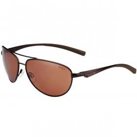 Bolle Columbus Sunglasses Polarized Sandstone Gun Oleo AF - Brown