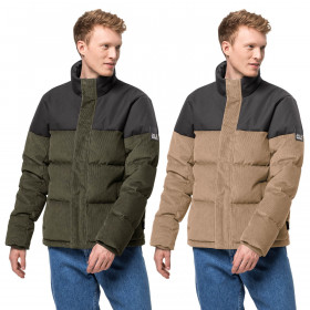Jack Wolfskin Mens 2021 Nature Corduroy Water Repellent Breathable Jacket
