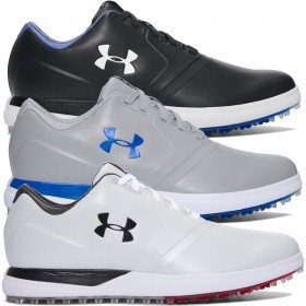Under Armour Mens Waterproof Performance SL Golf Shoes