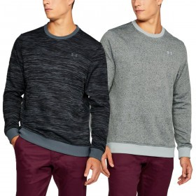 Under Armour Mens Storm Patterned Crew Sweater Fleece