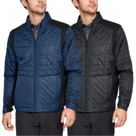 Under Armour Mens Storm Elements Insulated Breathable Golf Jacket