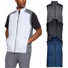 Under Armour Mens Elements Insulated Golf Vest