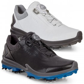 Ecco Mens 2019 Biom Boa G3 Waterproof Breathable Leather Golf Shoes