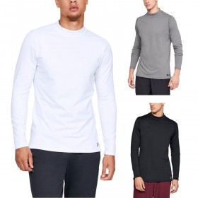 Under Armour Mens 2019 ColdGear Armour Fitted Mock