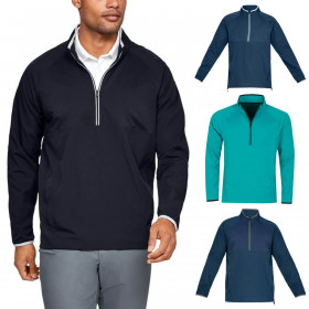 Under Armour Mens UA Golf Storm Windstrike Half Zip Jacket