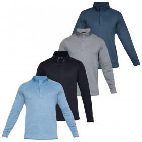 Under Armour Mens 2019 Crestable Storm Fleece Snap Golf Sweater