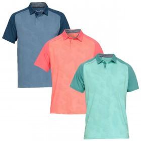 Under Armour Mens Tour Tips Champion Golf Polo Shirt