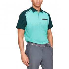 Under Armour Mens Tour Tips Rise Golf Polo Shirt