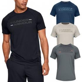 Under Armour Mens 2019 MK1 SS Wordmark T-Shirt