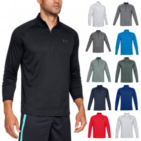 Under Armour Mens 2020 Tech 2.0 1/2 Zip HeatGear Training Breathable Sweater
