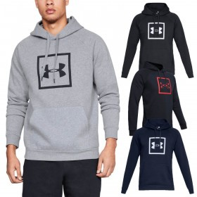 2556c45dde0f7 Under Armour Mens 2019 Rival Fleece Logo Hoodie