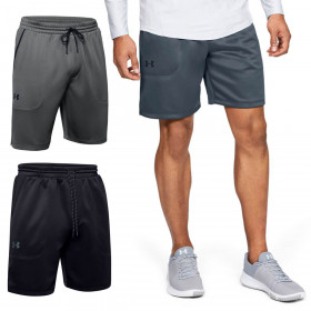 Under Armour Mens Mk1 Warmup Lightweight Moisture Wicking Breathable Shorts