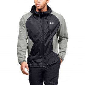 Under Armour Mens 2020 Stretch-Woven Hooded Wind Resistent Jacket