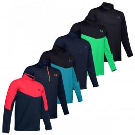 Under Armour Mens 2020 Storm Midlayer Water Repellent Wicking 1/2 Zip Sweater