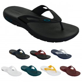Oakley Mens 2019 Oakley Ellipse Flip Sandals