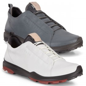 Ecco Mens 2019 Biom Hybrid 3 Waterproof Breathable Golf Shoes