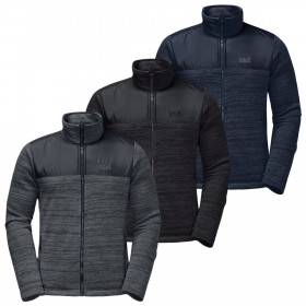 Jack Wolfskin Mens Aquila Hybrid Lightweight Windproof Jacket