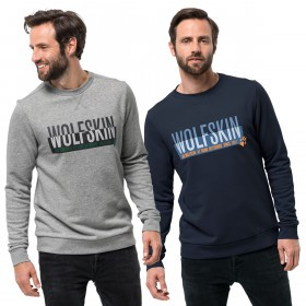 Jack Wolfskin Mens Slogan Sweater