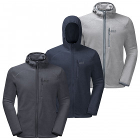 Jack Wolfskin Mens 2019 Skywind Hooded Sweater