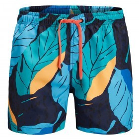 Bjorn Borg Mens BB Leaf Swim Shorts
