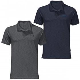 Jack Wolfskin Mens Travel Polo Shirt