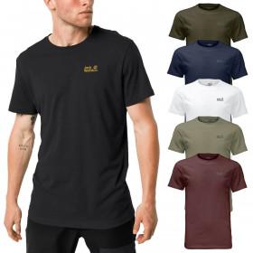 Jack Wolfskin 2021 Mens Essential Cotton Blend T-Shirt