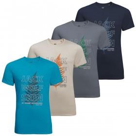 Jack Wolfskin Mens 2019 Island Hill T T-shirt