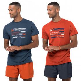 Jack Wolfskin Mens 2021 Established In Frankfurt Stretch Lightweight T-Shirt